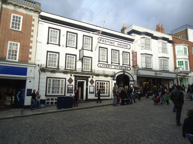 The Angel Hotel public house, Guildford