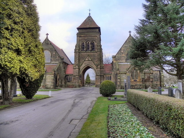 The Chapel at Urmston Cemetery