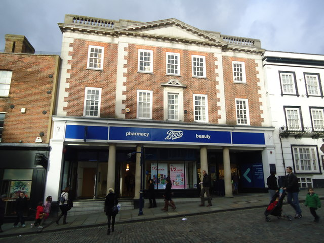 Boots the chemist, High Street, Guildford