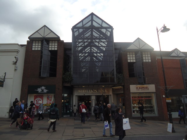 White Lion Walk shopping centre, Guildford