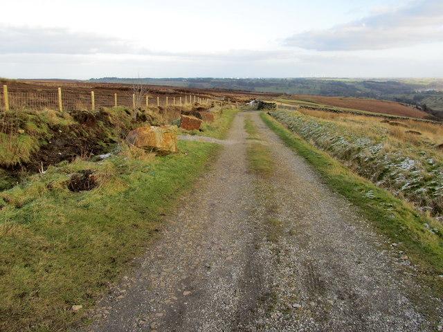 Bridleway on Kex Moor