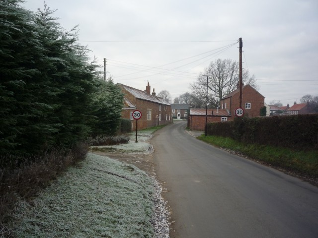 Entering Appleton Roebuck