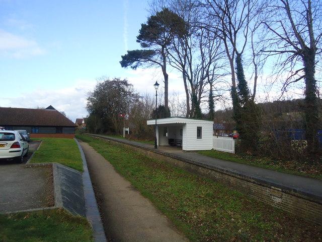 Former Bramley and Wonersh railway station