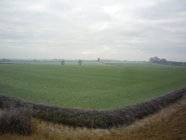 Farmland near the railway