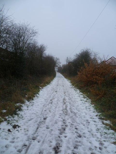 Moss House Lane Bridleway
