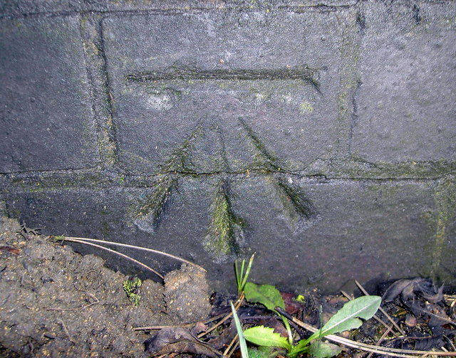 Benchmark on Thorpe Bridge (A607)
