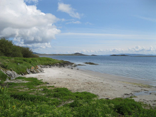 Jura shoreline at Craighouse