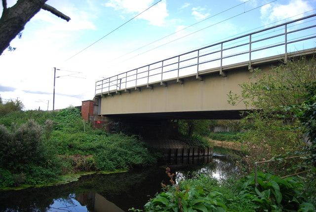 Railway bridge over the River Gipping