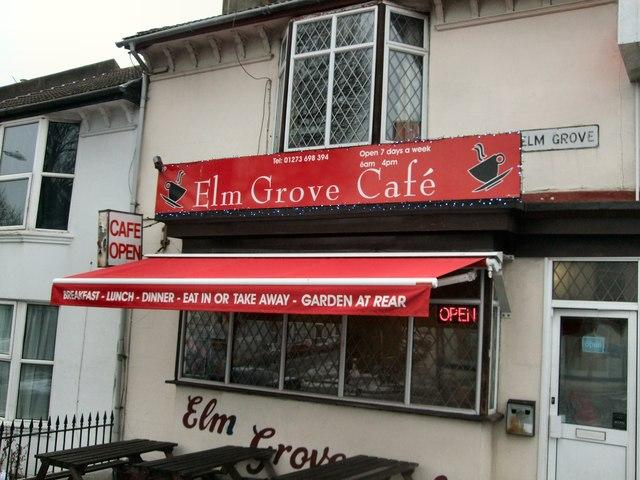 Elm Grove cafe