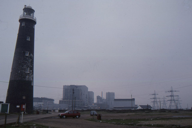 Dungeness: Old Lighthouse and nuclear power stations