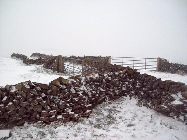 Snow Scene at Dam Cliff