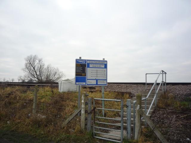 Railway maintenance access