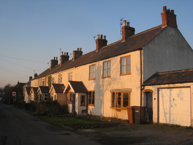 Cottages in Green Lane, Harby