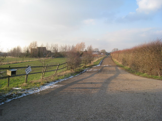 The entrance to Warren Farm