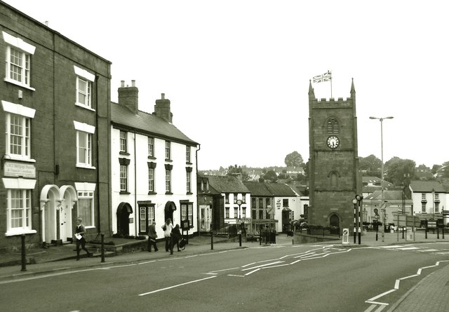 Coleford Town Centre