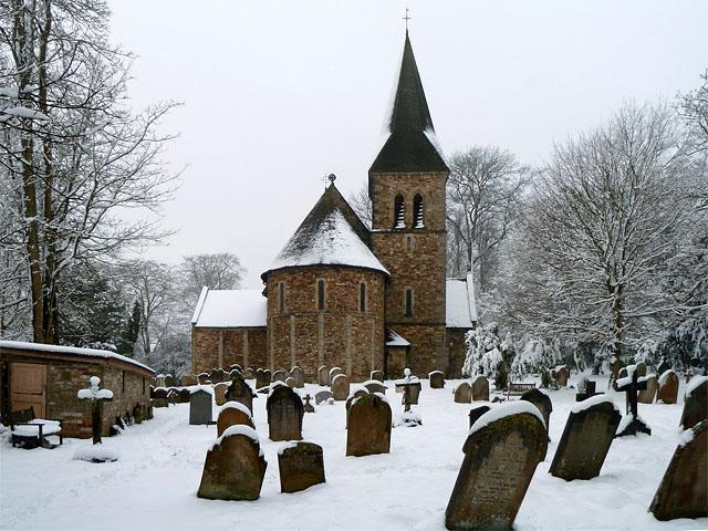 St Nicholas, Worth, east end