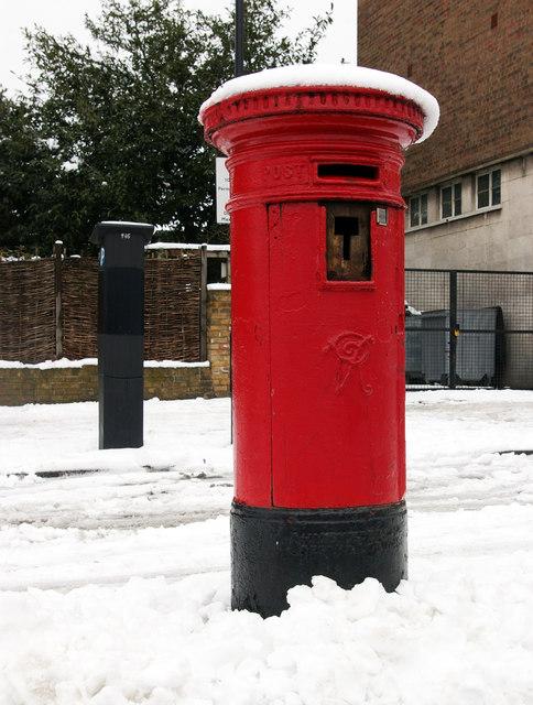 Victorian pillar box, Crouch End