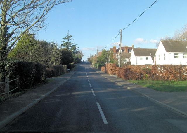 A274 leaving Headcorn