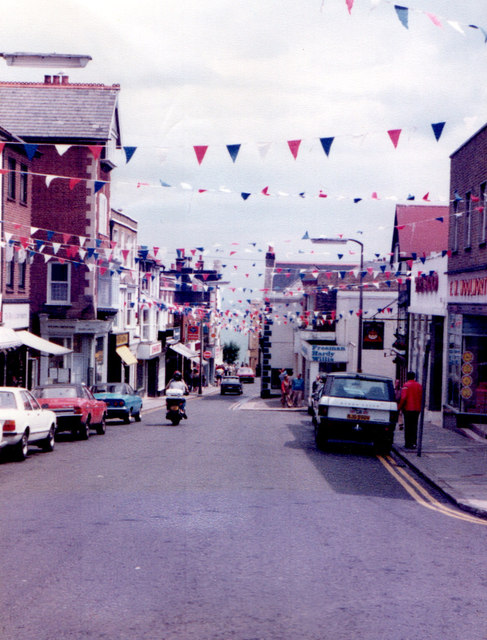 Broadstairs High Street 30th June1982