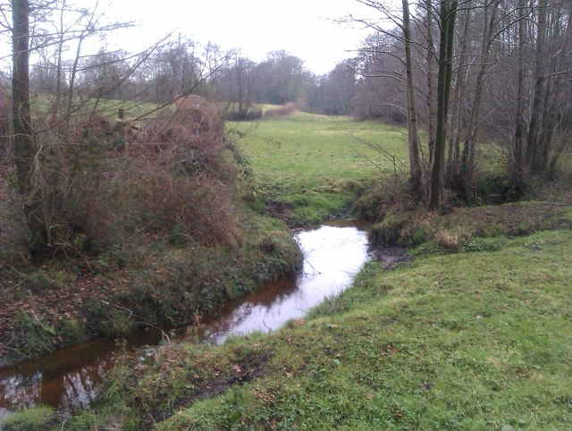 Mill Stream near Bunker's Hill