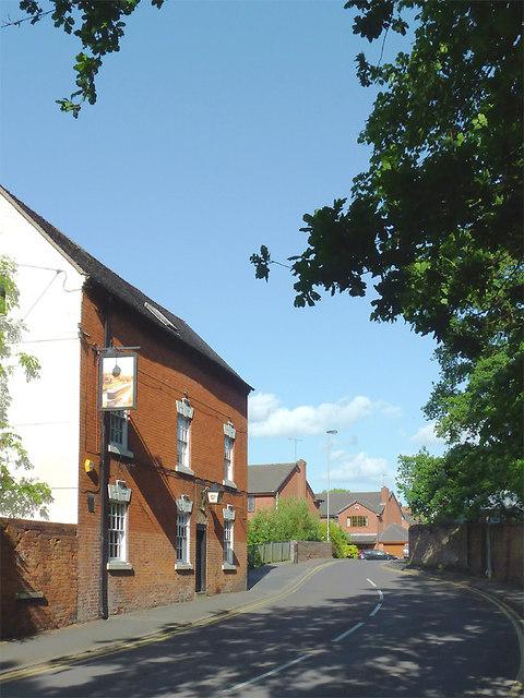 Cannock Road in Penkridge, Staffordshire