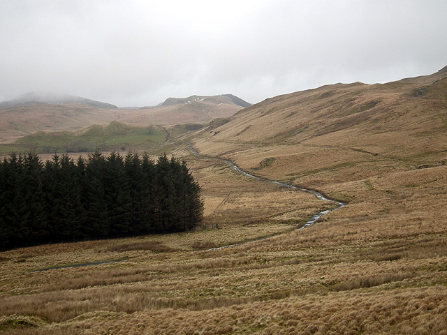 The track to Bwlchystyllen