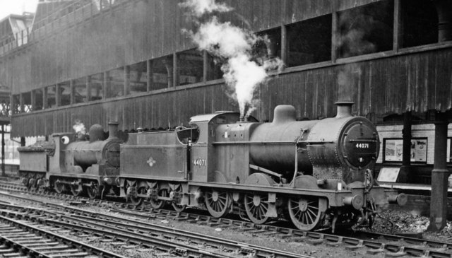 Banking engines for the Miles Platting Bank at Manchester Victoria