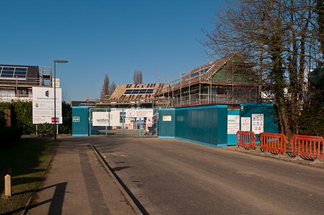 New houses, Whitmore Way