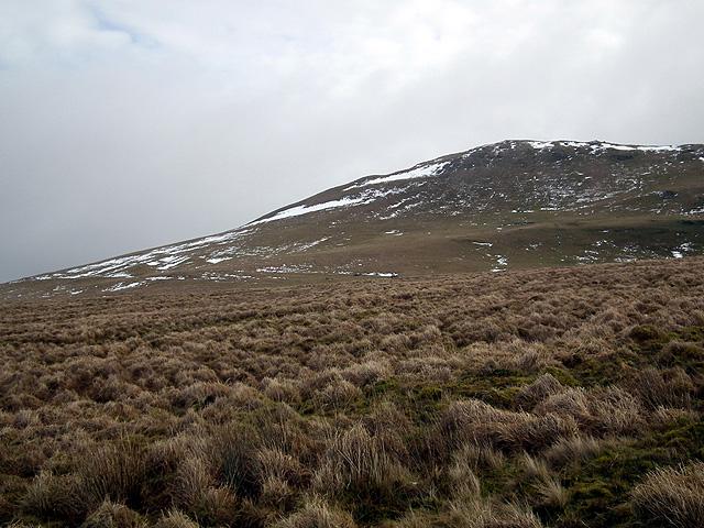 The north slope of Disgwylfa Fawr