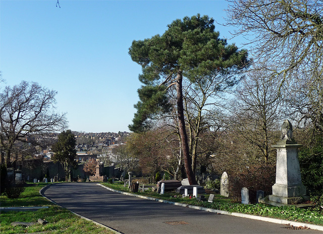 Path, West Norwood Cemetery (3)
