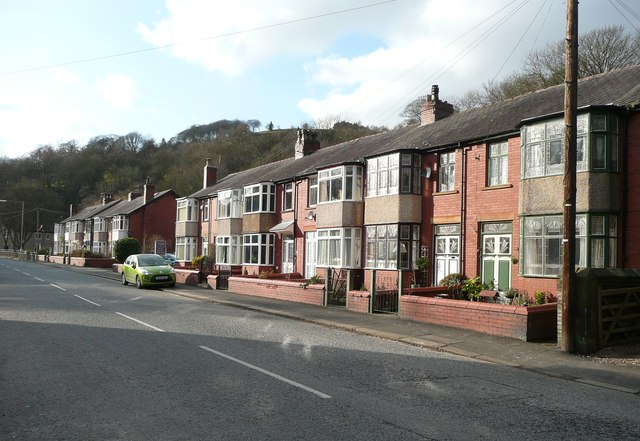 Terrace houses, Cragg Road, Mytholmroyd