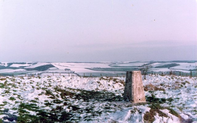 Beacon Hill triangulation pillar