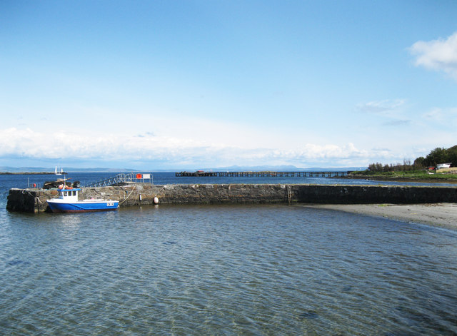Craighouse jetty and pier