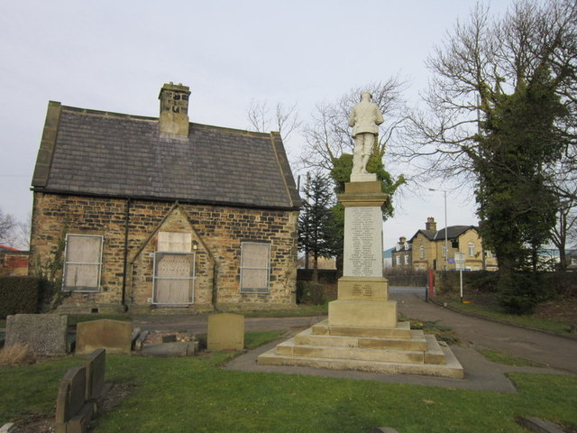 The War Memorial at Tong cemetery