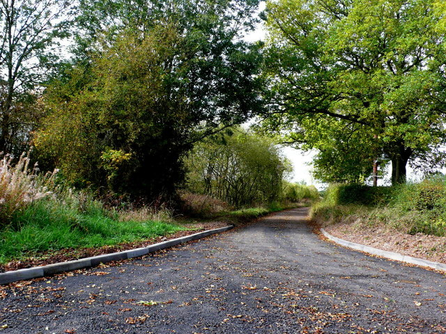Track near Lodge Hill
