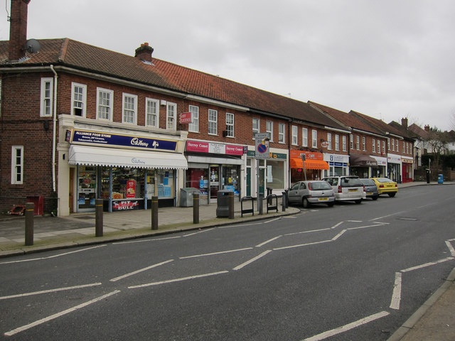Shops on Villiers Avenue