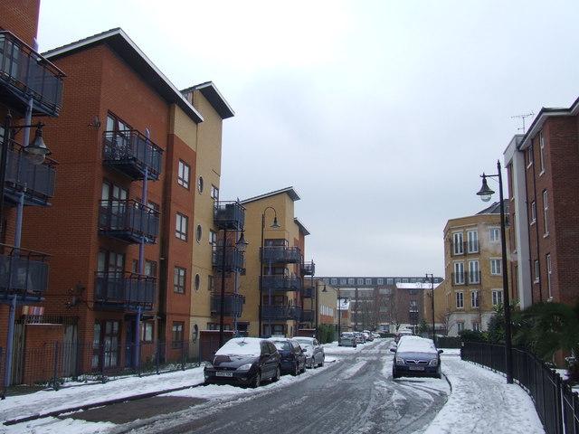 Winter in North Peckham