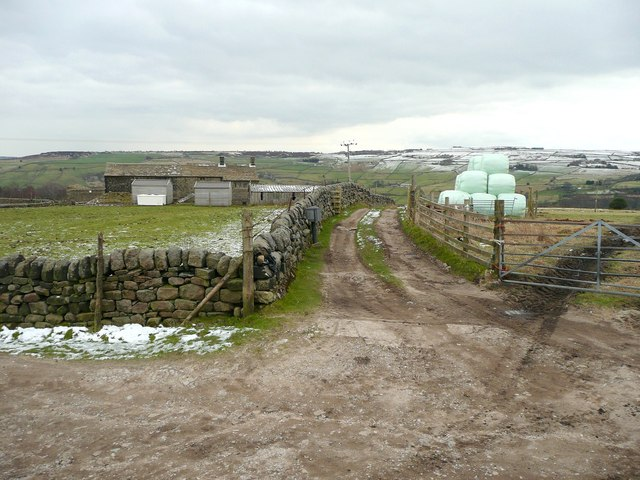 Track to Sandy Pickle, Cragg Vale