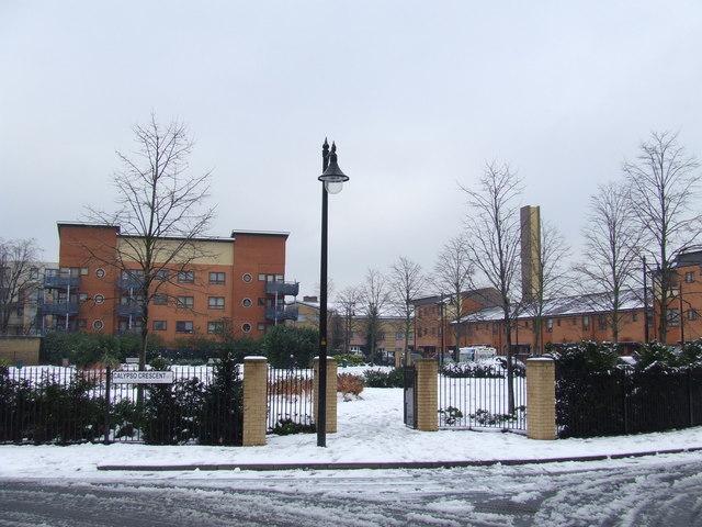 Calypso in the snow, Peckham