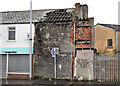 J3574 : Derelict building, Ballymacarrett, Belfast by Albert Bridge