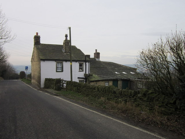 Upper Chatts Farm on Cliff Hollins Lane