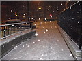 TQ2978 : Snowing in Bessborough Street,  Pimlico by PAUL FARMER