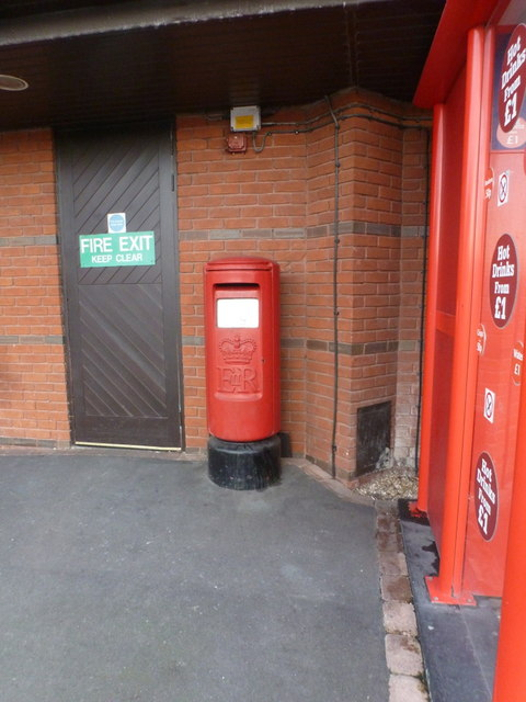 Chieveley: postbox № RG20 298, M4 Services