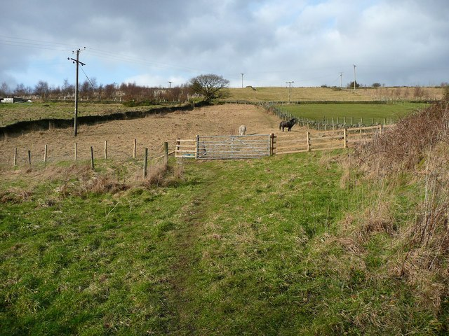 Footpath at Lower Lumb, Cragg Vale