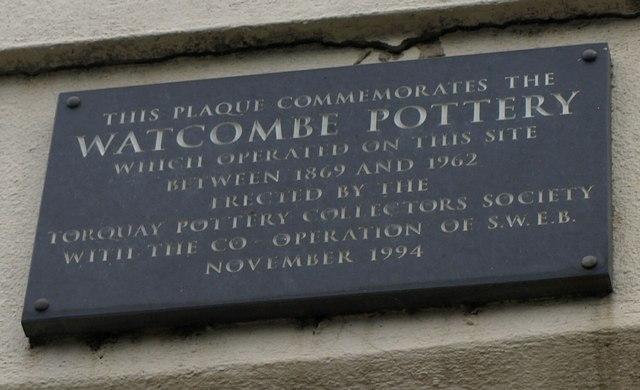 Plaque, Watcombe Pottery