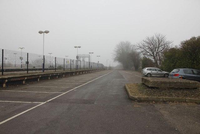 Car park in the bay