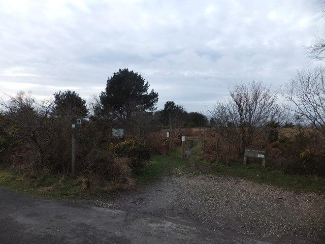Bridleway on Ideford Common