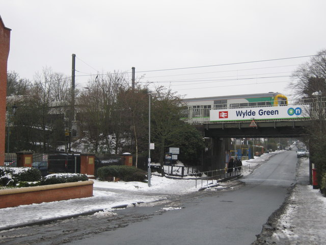 Wylde Green Station