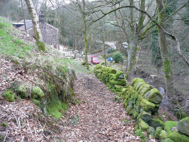 Lower Lumb Lane, Cragg Vale