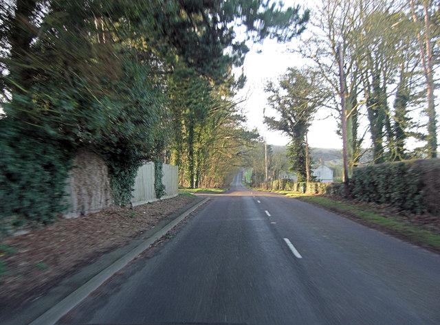 B3051 south of Kingsclere